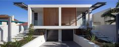 Contrast and Complement: Portland Street Duplex by MPR Design, Sydney