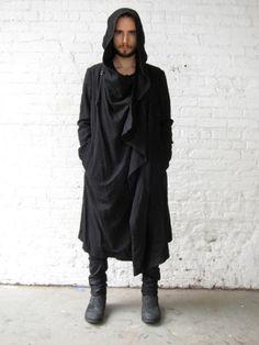 Julius Unconstructed Hooded Coat