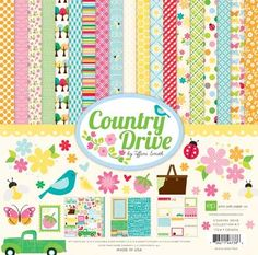 Product love: Country Drive line by Echo Park Paper