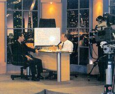 Entrevista en Canal 11 TV, con Ricardo Belmont.