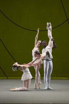 "The Washington Ballet in Ashton's ""Symphonic Variations."" (Theo Kossenas/Media4Artists )"