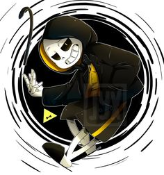 Bill!Sans <<<This makes me think of some GF/UT crossover where Bill takes over Sans' body and considering how powerful both of those characters are, that's both awesome and terrifying