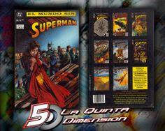 EL MUNDO SIN SUPERMAN  COMPENDIO CON TODOS LOS COMICS QUE FORMARON FUNERAL FOR A FRIEND.  PRIMERA EDICIÓN, EN PERFECTO ESTADO.  $ 250.00 Para más información, contáctanos en http://www.facebook.com/la5aDimension