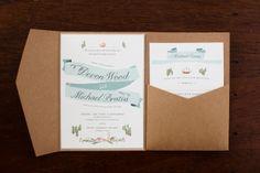 Wedding Invitation | Main Wedding on SMP: http://www.stylemepretty.com/massachusetts-weddings/2013/11/22/northport-maine-wedding-from-meredith-perdue | Meredith Perdue Photography