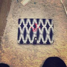 """NEVER USED BRAND NEW Cross body """"j"""" purse Super cute! Great for taking out! STRAPS ARE INSIDE STILL IN WRAPPER!!  Bags Crossbody Bags"""