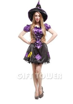 Female Witch Costume Halloween Costume Witch Costume Party Clothing for Devil Stage Performance Dress Fantasia Disfraces Witch Costumes Witch Costumes, Costume Halloween, Devil, Snow White, Stage, Female, Disney Princess, Party, Clothing