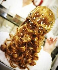 Re-create this gorgeous bridal hair style! Just Add Hair! Use Balmain Hair extensions to give you volume from root to tip!