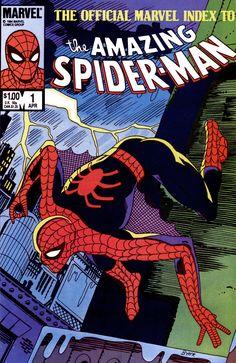 The Oficial Marvel Index To The Amazing Spider-Man #1 cover by John Byrne