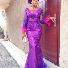 Cord Lace Aso Ebi Styles To Turn Up Your Mood for OwambeLatest Ankara Styles and Aso Ebi Styles 2020 African Wear, African Women, African Dress, Kente Dress, Latest Ankara Styles, Red Gowns, Aso Ebi Styles, African Fashion Dresses, Traditional Dresses
