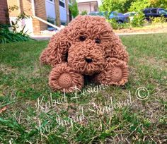 (4) Name: 'Crocheting : Miky the poodle dogui
