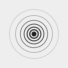 Music tattoo geometric shape 25 Ideas for 2019 Circle Design, Shape Design, Logo Design, Graphic Design, Graphic Art, Geometric Designs, Geometric Shapes, Typography Logo, Logos