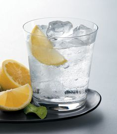 Club Soda with Lemon perfect pop replacement. Gonna try it with sparkling water next. Lemon slices last forever, so you can just refill the club soda!