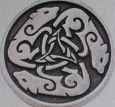 Wolf symbol/pendent