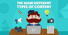 The 8 Main Different Types of Content and How to Use Them