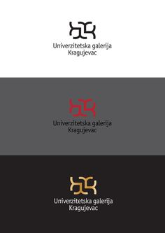 University of Kragujevac Gallery Logo on the Behance Network