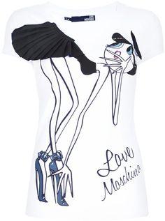 Love Moschino ~ Printed Tshirt