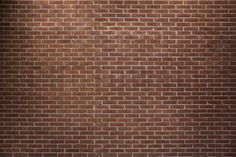 Deep Red Brickwall - Fototapeter & Tapeter - Photowall