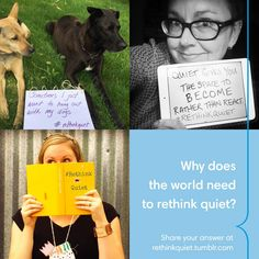 Why Does the World Need to Rethink Quiet? with Quiet Revolution The Power Of Introverts, Quiet Revolution, Train Your Brain, World Need, Get Happy, Hanging Out, Helping People, Inspirational Quotes, Mindful Living