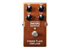Dunlop Manufacturing :: Electronics :: MXR :: Bass Fuzz Deluxe