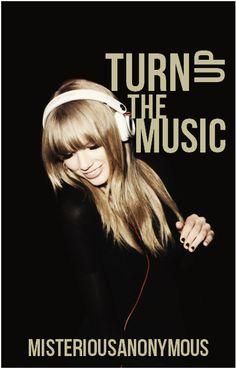turn up the music Story Titles, Turn Up, Music, Cover, Movie Posters, Musica, Musik, Film Poster, Muziek