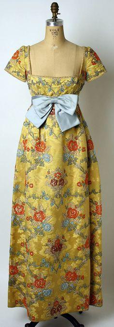 Dress, Evening  George Halley  Date: 1967–69 Culture: American Medium: silk