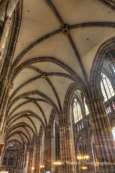 Gothic Architecture In A Cathedral