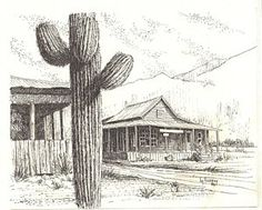 Ghost Towns Drawings for Sale (Page #2 of 3) - Fine Art America