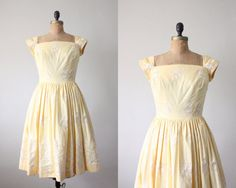 1950's lemon meringue party dress.  Thrush  $164