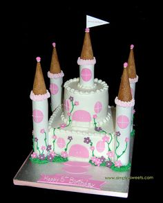 even thogh im turning 21...it will always be a little girl's dream to have a castle cake!
