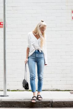 Todays Outfit – Jeans And Birkenstocks