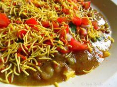 Masala Puri : A Bangalore Style Chaat Recipe ~ Savi-Ruchi