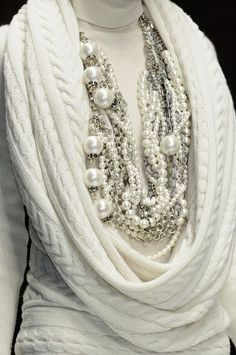 Will never be caught without pearls!