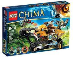 Lego Legends Of Chima – Playthèmes – 70005 – Jeu de Construction – Le Chasseur Royal de Laval   Your #1 Source for Toys and Games
