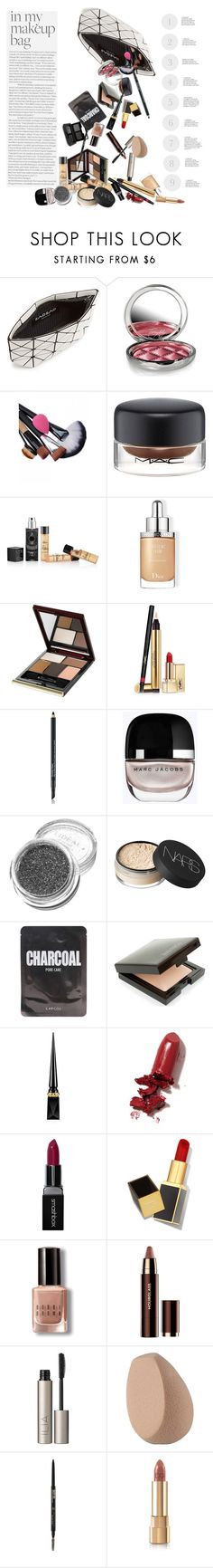 """""""Makeup Bag"""" by marionmeyer ❤ liked on Polyvore featuring beauty, Bao Bao by Issey Miyake, By Terry, MAC Cosmetics, Kilian, Christian Dior, Kevyn Aucoin, Yves Saint Laurent, Estée Lauder and Marc Jacobs"""