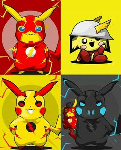 Speed force pikachu Art by bosslogic - Flash, Jay Garrick, Reverse Flash & Zoom pikachu Pikachu Pikachu, Pikachu Kunst, Deadpool Pikachu, Pokemon Backgrounds, Cool Pokemon Wallpapers, Cute Pokemon Wallpaper, Pokemon Legal, O Pokemon, Pokemon Fusion