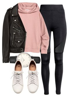 """Untitled #6306"" by laurenmboot ❤ liked on Polyvore featuring Jakke, ROSEFIELD and H&M"