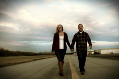 Airplane Engagement Photos.  Aviation Save The Dates. Airport Runway