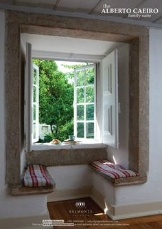 See more of the ALBERTO CAEIRO Family Suite @ http://www.palaciobelmonte.com/the-suites/alberto-caeiro/ with the touch of an organic garden view and ambiance, and contact us for more information about our rooms and reservations @ http://www.palaciobelmonte.com/location/
