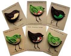 17+ ideas about Fabric Brooch on Pinterest   Felt brooch, Felt ...