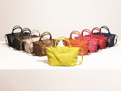 LE PLIAGE® CUIR – Discover the complete collection on www.longchamp.com