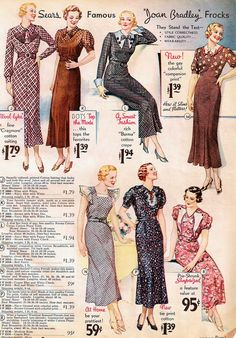 1934 Sears Catalog.