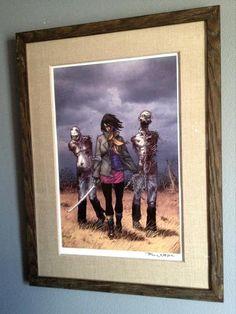 The Walking Dead 19 Cover Art