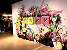 Alice Pasquini - Nike Store Milano by AliCè, via Flickr
