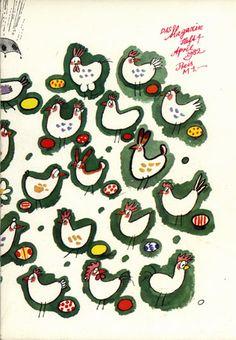 "Werner Klemke ""Das Magazin"" 1982 Book Illustration, Fall 2016, Archive, Kids Rugs, Easter, Artists, Beige, Memories, Kid Friendly Rugs"