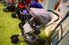 Scheduled for 2015 release, the already beloved Quinny Buzz has now added features of never-flat tires, new handlebars and a new and easier fold feature. - www.BabyGaga.com