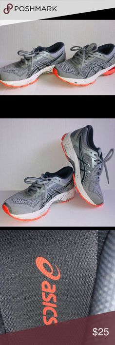 c0bf05f6276dd ASICS GT 1000 tennis shoes. Nearly new ASICS gt 1000 tennis shoes. Grey with