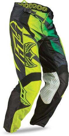 Fly Racing Kids Cross Hose Kinetic Inversion Green/Black 2013