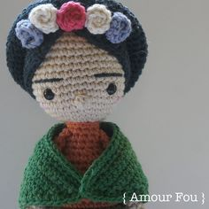 Frida - Crochet Pattern by {Amour Fou}