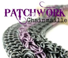 Patchwork Cuff  KIT - Chainmaille -  Combination Jens Pind  Byzantine  Helm  Half Persian 4-in-1 and European 4 in 1 weaves - Intermediate. $60.00, via Etsy.