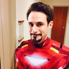 Our very own Iron Man (Tony Stark!)>>>Seriously, though, they couldn't have cast him any other way! He's perfect as Tony Stark